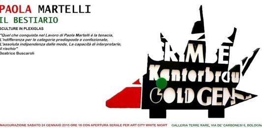Paola Martelli –  Il Bestiario. Nuove opere in plexiglas
