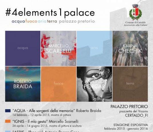 #4elements1palace: Marcello Scarselli – IGNIS. Il mio gesto