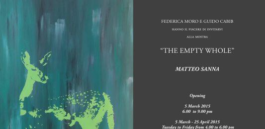 Matteo Sanna – The Empty Whole