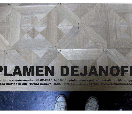 Plamen Dejanoff – Foundation Requirements