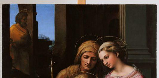 Raffaello –  La Madonna del Divino Amore