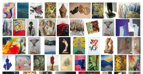 Visioni d'Arte. Opere di 65 Artiste