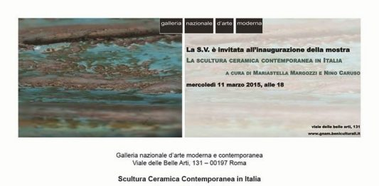 La scultura ceramica contemporanea in Italia
