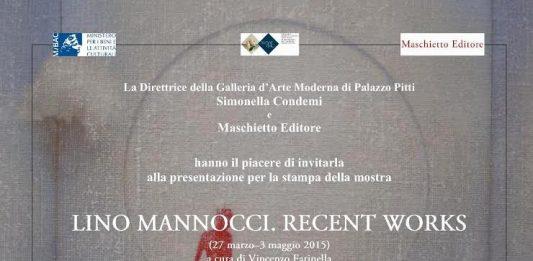 Lino Mannocci – Recent works