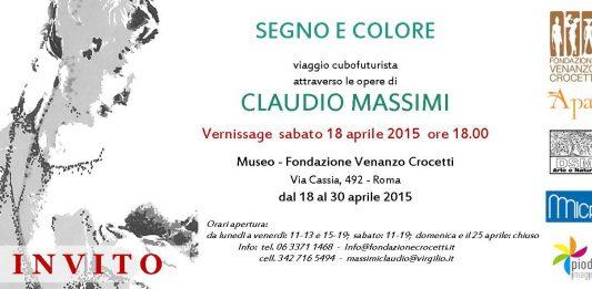 Claudio Massimi – Segno e colore