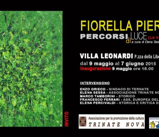 Fiorella Pierobon – Percorsi di luce