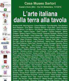 L'arte italiana dalla terra alla tavola