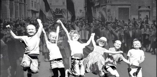 Liberi tutti! Il 25 aprile 1945 visto con gli occhi dei bambini
