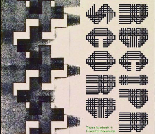 Tauba Auerbach / Charlotte Posenenske – Reciprocal Score