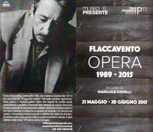 Franco Flaccavento – Opera 1989-2015