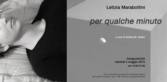 Letizia Marabottini – Per qualche minuto