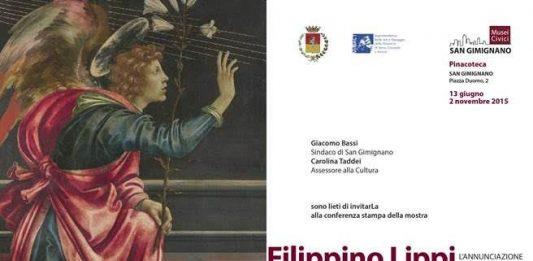 Filippino Lippi, L'Annunciazione di San Gimignano