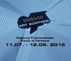 50x50x50 Art Südtirol 2015