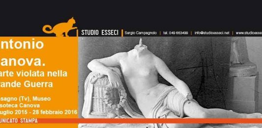 Antonio Canova – L'arte mutilata nella Grande Guerra