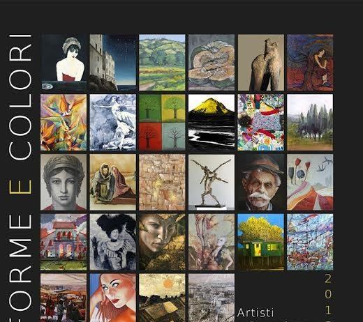 Forme e colori. Artisti a Bossolasco – edizione 2015