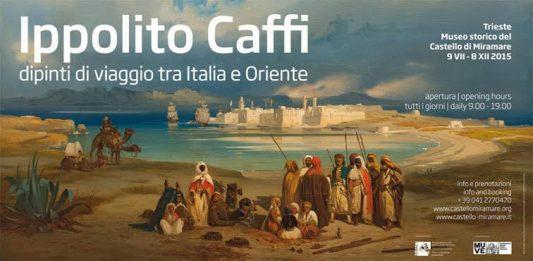 Ippolito Caffi – Dipinti di viaggio tra Italia e Oriente
