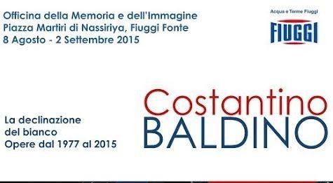 Costantino Baldino – La declinazione del bianco.  Opere dal 1977 al  2015