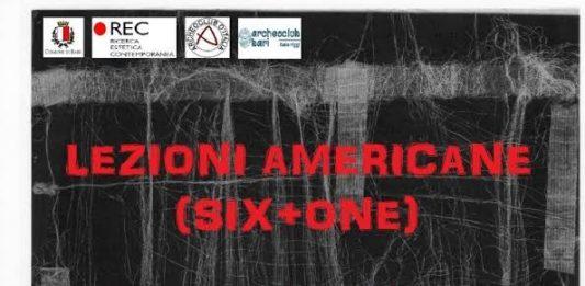Lezioni Americane (six+one), Omaggio a Italo Calvino