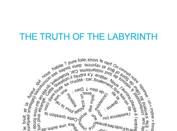 Maria Rebecca Ballestra / Julien Friedler – The Truth of the Labyrinth