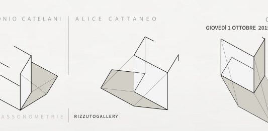 Antonio Catelani / Alice Cattaneo – Assonometrie