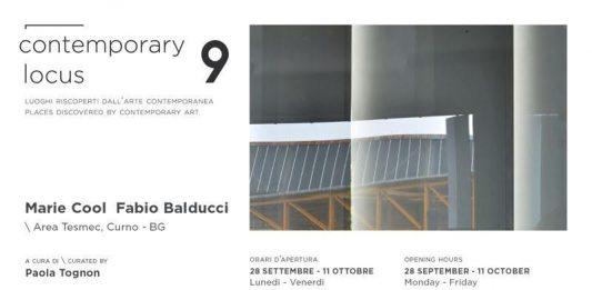 Contemporary locus 9: Marie Cool / Fabio Balducci