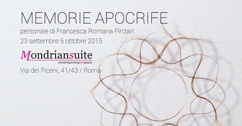 Francesca Romana Pinzari – Memorie apocrife