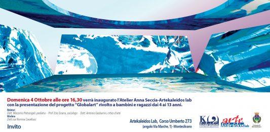 L'artista Anna Seccia presenta il progetto GlobalArt