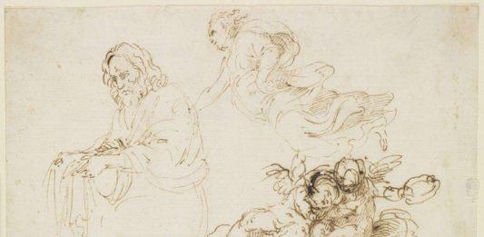 Simone Cantarini – Opere su  carta agli Uffizi.