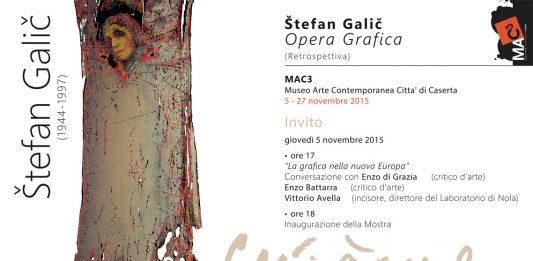 Štefan Galic (1944-1997) – Opera Grafica (Retrospettiva)