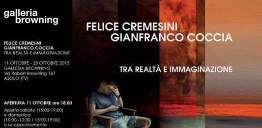 Felice Cremesini / Gianfranco Coccia –  Tra realtà e immaginazione'