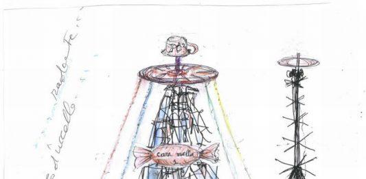 L'albero della cuccagna. Nutrimenti dell'arte: Luca Maria Patella