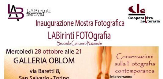 Labirinti Foto. Presentazione delle opere vincitrici
