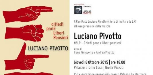 Luciano Pivotto – HELP. Chiedi pane e liberi pensieri