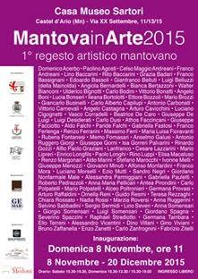 Mantova in Arte 2015 – 1° regesto artistico mantovano