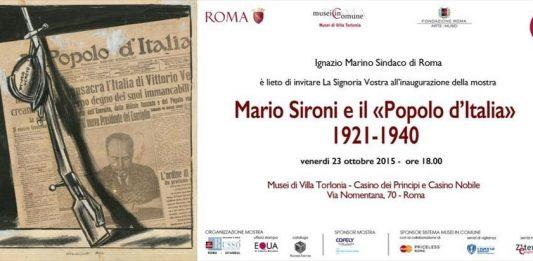 """Mario Sironi e le illustrazioni per """"Il Popolo d'Italia"""" 1921-1940"""