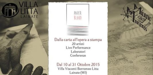 Paper Blood: dalla carta all'opera a stampa