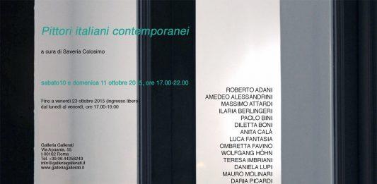Pittori italiani contemporanei