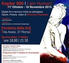 Rolando Attanasio – Kepler 999. I am Human!