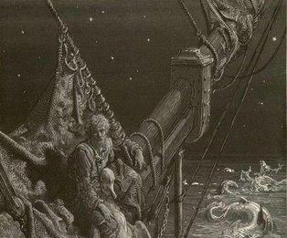 Viaggio nell'illustrazione. La leggenda del vecchio marinaro