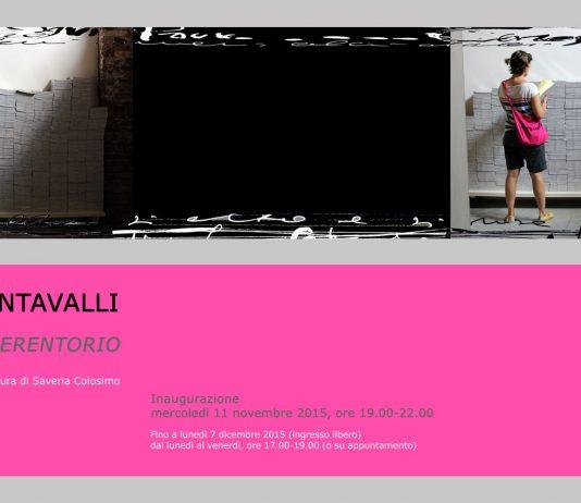 Daniele Contavalli – Spazio perentorio