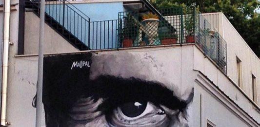 La Street art omaggia Pasolini