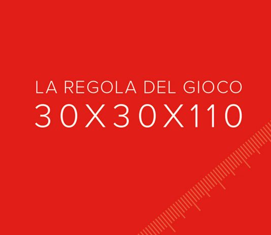 La regola del gioco  30x30x110