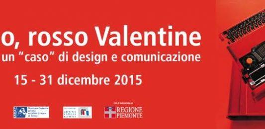 """Rosso, rosso Valentine. Olivetti, un """"caso"""" di design e comunicazione"""