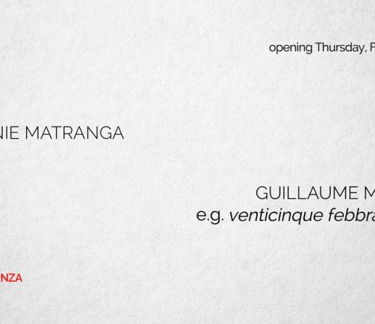 Mélanie Matranga – Denim / Guillaume Maraud – e.g. venticinque febbraio 2016