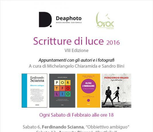 Scritture di Luce 2016