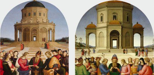 Primo Dialogo Raffaello e Perugino attorno a due Sposalizi della Vergine