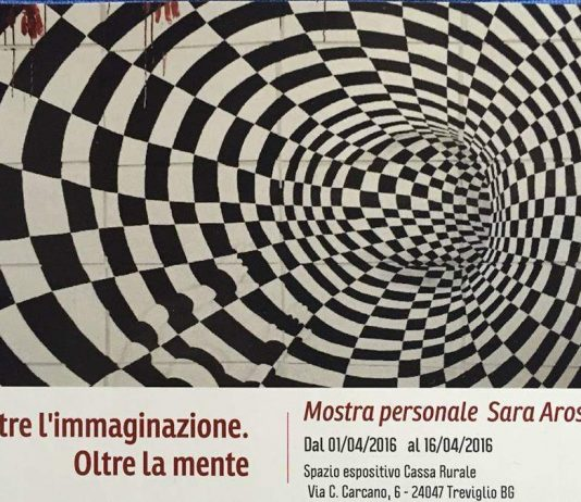 Sara Arosio – Oltre l'immaginazione. Oltre la mente