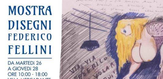 Disegni di Federico Fellini dalla collezione Geleng