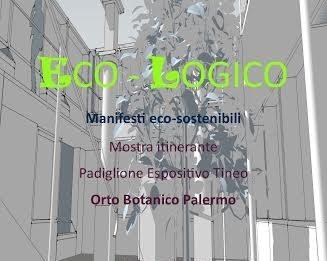Eco-Logico Manifesti  eco-sostenibili