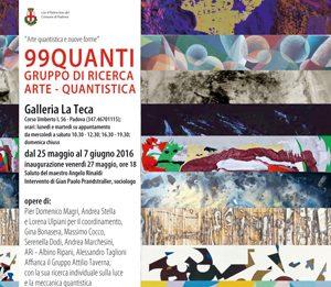 99Quanti, arte quantistica e nuove forme